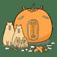 Capybara Orange-San