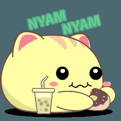Tsuki the moon cat 2