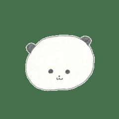 パンダの枕