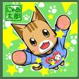 Nyatarou Sticker Kansaiben2