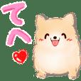 毎日を喜ぶ♡わんこ(シンプル)