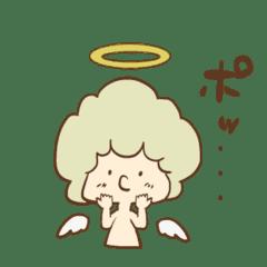 【学べる絵本】天使ルーシー第二弾スタンプ