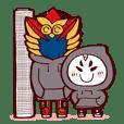 Toshiega heartwarming line Sticker