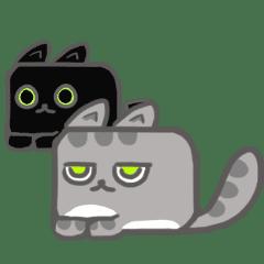 方塊貓-咪咪與吉吉