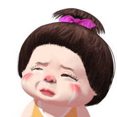 Mungkud cute girl animated