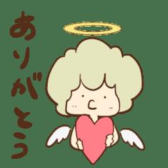 【学べる絵本】天使ルーシー第三弾スタンプ