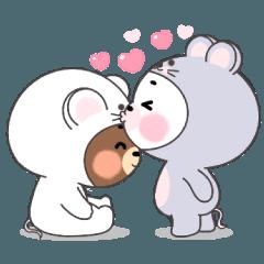 ไมโล กับ โมจิ คู่รักหมีน้อย V.1 (EN)