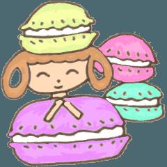 Little Pastel Macaron Girls