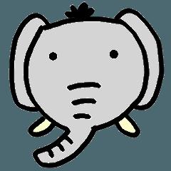 大象顏文字
