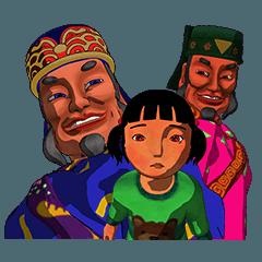 characters of Animation XieXun