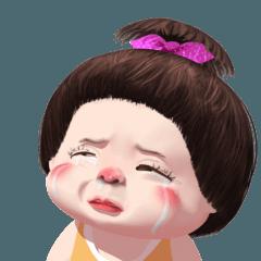 Mungkud cute girl animated (ENG)