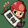 """""""Kambei no Yabou"""" Character Stickers!"""