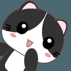 Tuxedo Cat 2 :Animated
