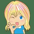 Lovely Blonde Girl