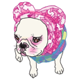 French Bulldog Stickers 2