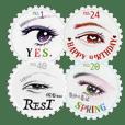 Stamp of eyes【切手(サークル)】