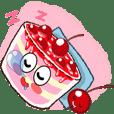 蛋糕&樱桃