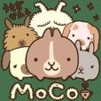 ふきだし付♪ うさぎかふぇ『MoCo』