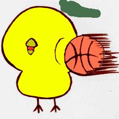 ベイビーチキンのバスケ