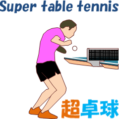 Super table tennis