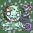 zombieno sticker