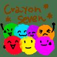 Crayon seven