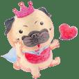 Joy's 巴哥犬的愛