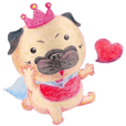 Joy's Pug Love