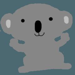 コアラ lala2英語で挨拶