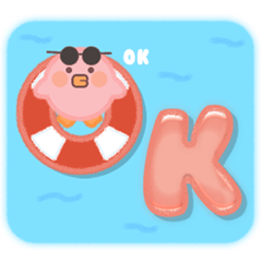 Hot Summer Holiday Vibe w/ Pink Bird TH