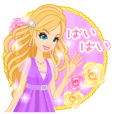 Lady Stickers-Japanese-
