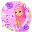 Lady Stickers2-Japanese-