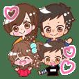 family deco Sticker