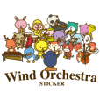 Wind Orchestra Sticker