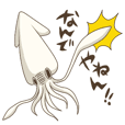 Pleasant squid
