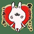 Mustache rabbit by cadisiro