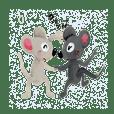 Good friend rat's(Hooky & Kitchi)