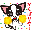 Cute Chihuahua Kansai Words Stickers