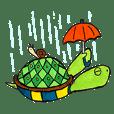 Turtle man!