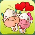 คู่รักวัวมูบีและมิร่า
