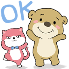 Little brown bear BOOBOO4-conversation