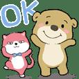 Little brown bear BOOBOO 5-conversation