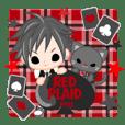 RED PLAID boys -English-