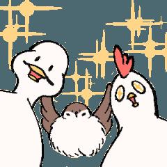 Duck JuJu and PoGeiChicken