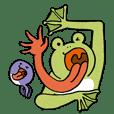 ベロが極度に進化したカエルちゃんシリーズ