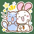 Mofukawa Llama, Cat, Bunny & Girl