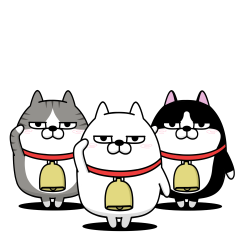 The three cats that move2