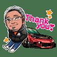 D'z garage Okada's Sticker