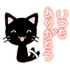 Gentle black cat.(part1)
