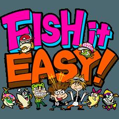 FISH it EASY! Sticker